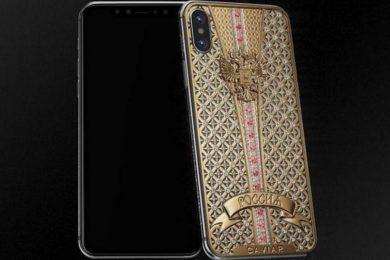 Caviar anuncia un iPhone X personalizado con un precio de 34.200 euros