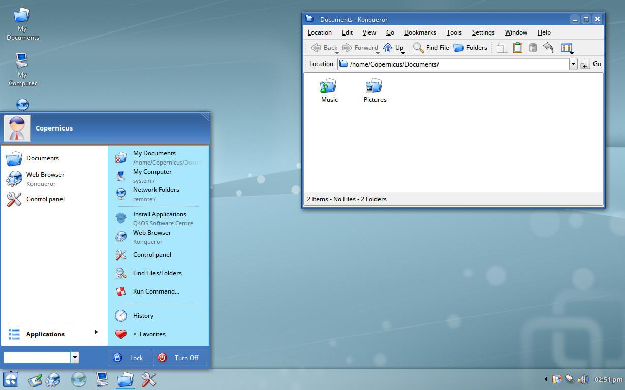 Q4OS: nunca ha sido más fácil usar Linux junto a Windows 32