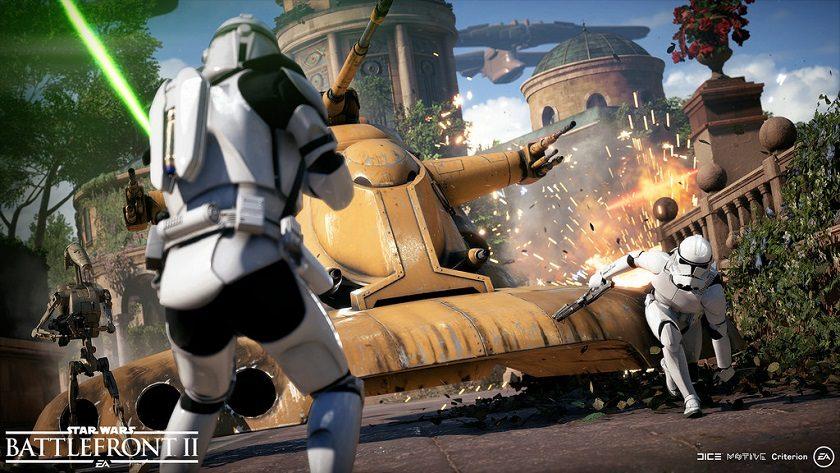 EA elimina temporalmente todos los micropagos de Star Wars Battlefront II