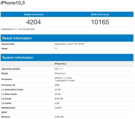 El Galaxy S9 pasa por GeekBench, especificaciones y rendimiento 34