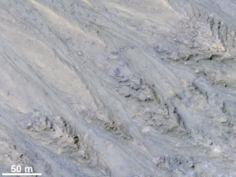 Los riachuelos de Marte son en realidad granos de arena seca 33
