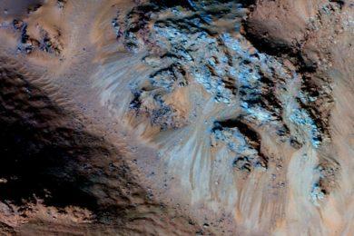 Los riachuelos de Marte son en realidad granos de arena seca