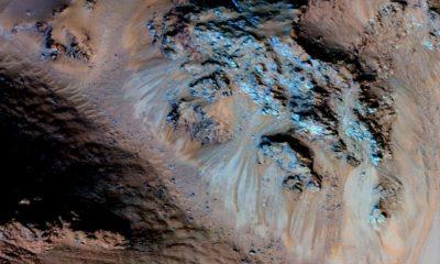 Los riachuelos de Marte son en realidad granos de arena seca 74