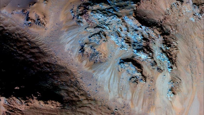 Los riachuelos de Marte son en realidad granos de arena seca 31