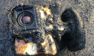 Una GoPro sobrevive a un baño en lava 49
