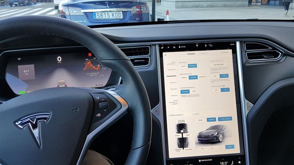 Tesla Model S 100D, sueños 42