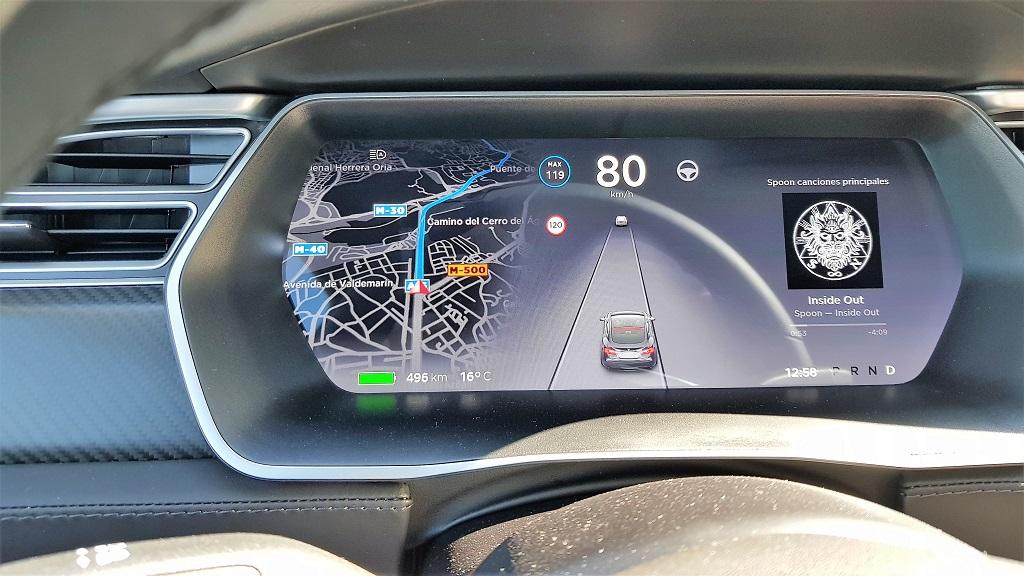 Tesla Model S 100D, sueños 50