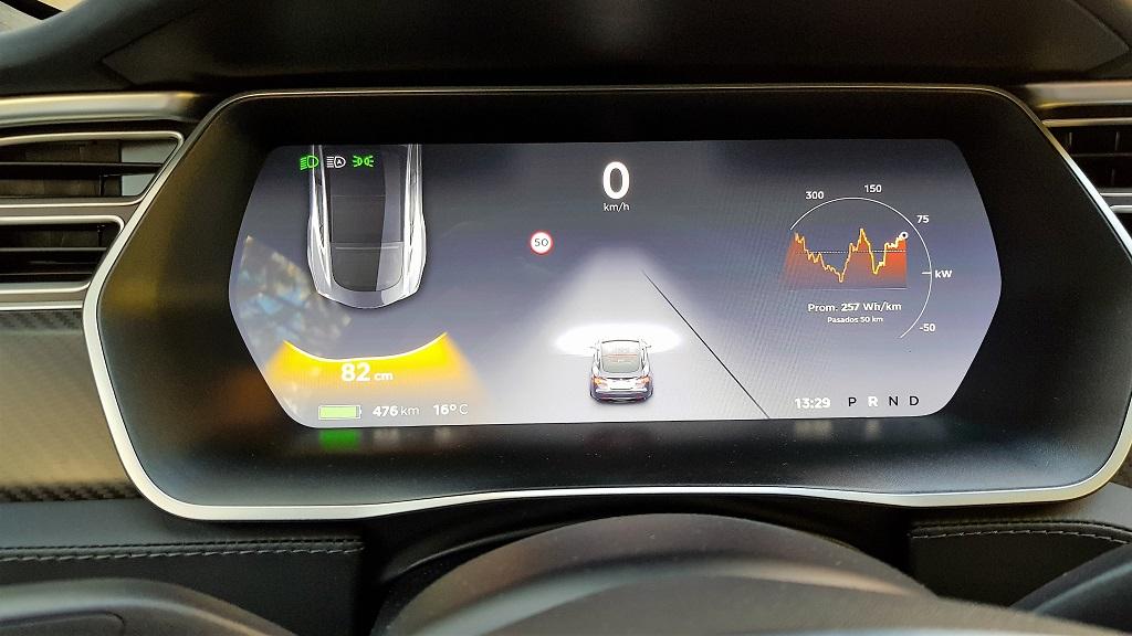 Tesla Model S 100D, sueños 64