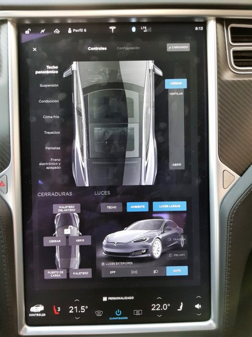 Tesla Model S 100D, sueños 44