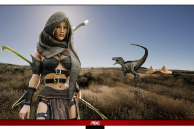 AOC presenta monitores para juegos series G90
