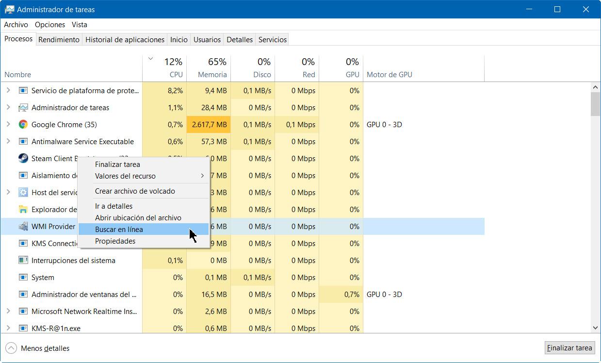 A fondo: administrador de tareas de Windows 10 Fall Creators Update 40