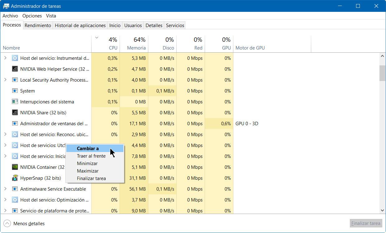 A fondo: administrador de tareas de Windows 10 Fall Creators Update 46