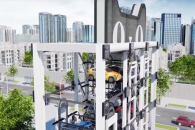 El Alibaba más futurista entrega coches desde máquinas expendedoras