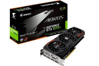 GIGABYTE lanza la Aorus GeForce GTX 1070 Ti, especificaciones
