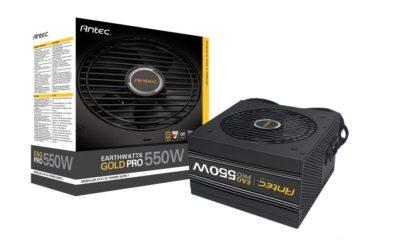 Antec anuncia sus nuevas fuentes Earthwatts Gold Pro 81