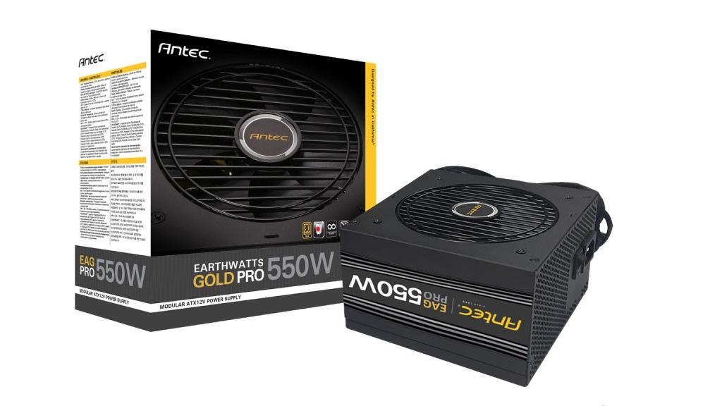 Antec anuncia sus nuevas fuentes Earthwatts Gold Pro 30