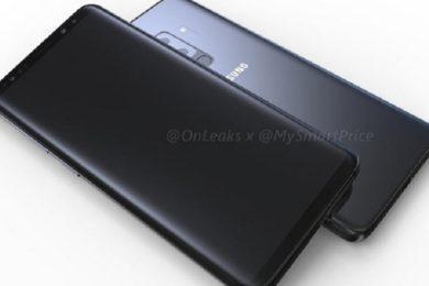 Posible diseño de los Galaxy S9 y Galaxy S9+ en vídeo