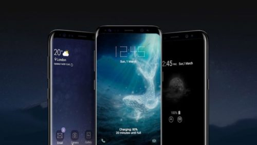 ¿Serán así los Galaxy S9?