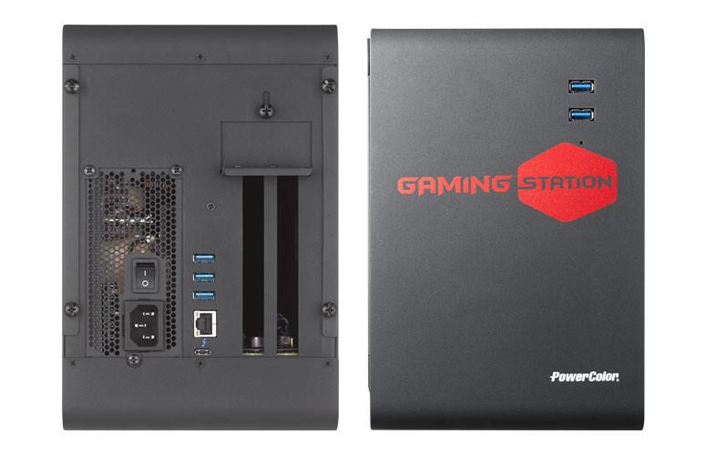 PowerColor presenta la eGPU Gaming Station eGFX 32