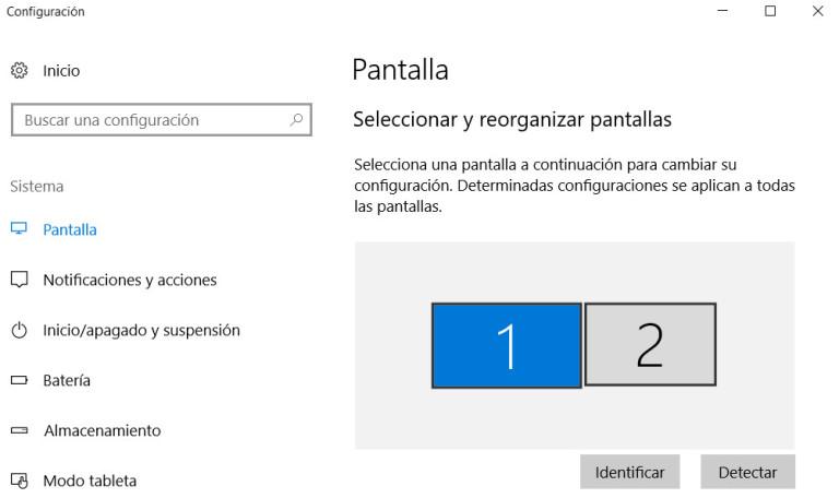 Trabaja con múltiples monitores en Windows 10 Fall Creators Update 31