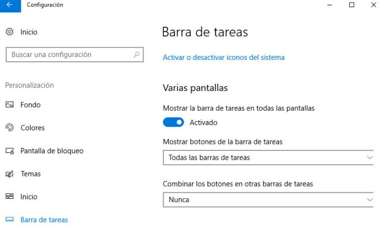 Trabaja con múltiples monitores en Windows 10 Fall Creators Update 33