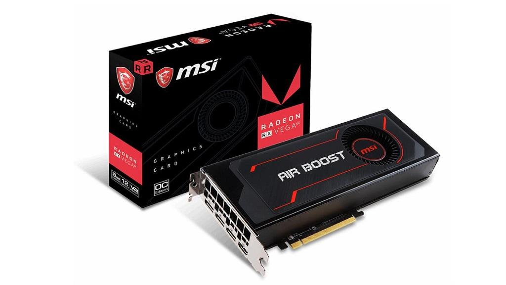 MSI lanza la Radeon RX Vega 64 Air Boost 8G OC, especificaciones 31