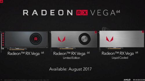 AMD dejará de suministrar Radeon RX Vega de referencia
