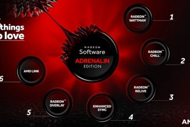 AMD presenta Radeon Software Adrenalin Edition y Radeon Pro Software Adrenalin Edition