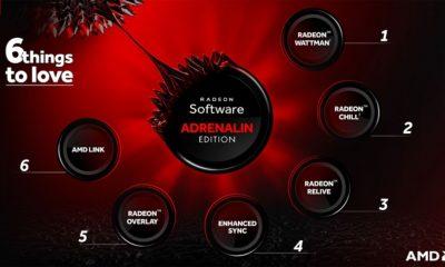 AMD presenta Radeon Software Adrenalin Edition y Radeon Pro Software Adrenalin Edition 34