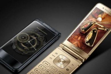 Samsung W2018 flip, el mejor móvil plegable del mercado