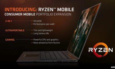 AMD confirma SoCs Ryzen Mobile con módems Qualcomm X16 55