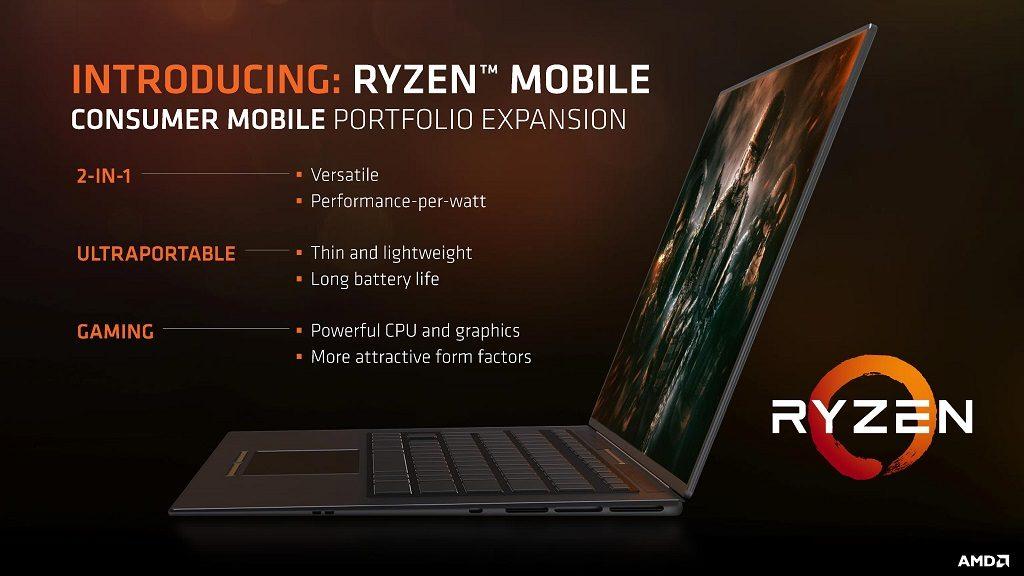 AMD confirma SoCs Ryzen Mobile con módems Qualcomm X16 28