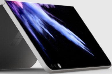 Vuelven los rumores que apuntan a un Surface Phone plegable