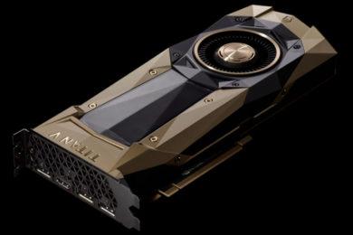 NVIDIA presenta Titan V, la GPU más potente jamás creada