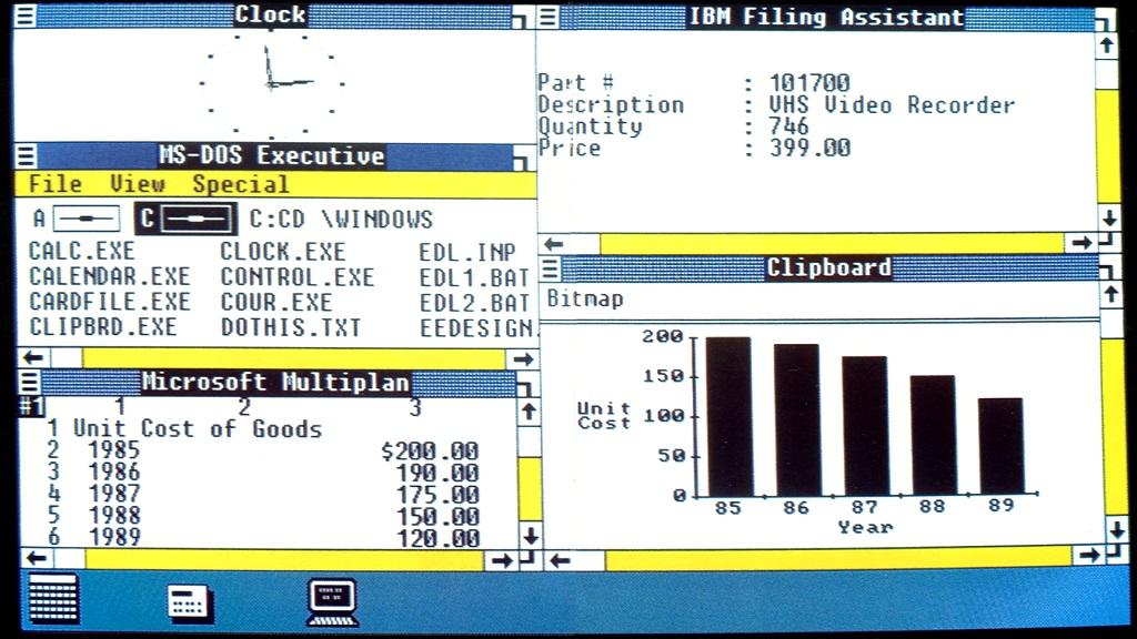 ¿Cuánto pagarías por una copia de Windows 1.0 firmada por Bill Gates? 29