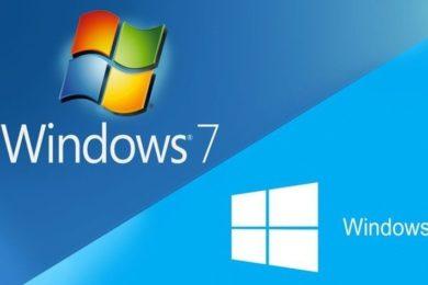 Windows 10 recorta terreno a Windows 7