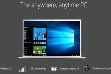 Microsoft presenta los primeros equipos Windows 10 sobre ARM