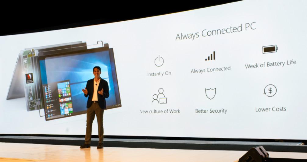 Microsoft presenta los primeros equipos Windows 10 sobre ARM 32