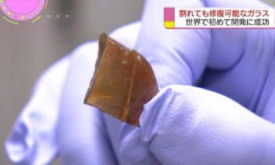 Científicos japoneses descubren cristal que se autorepara 30