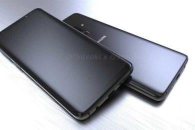 Filtrados el frontal y la parte trasera del Galaxy S9 de Samsung