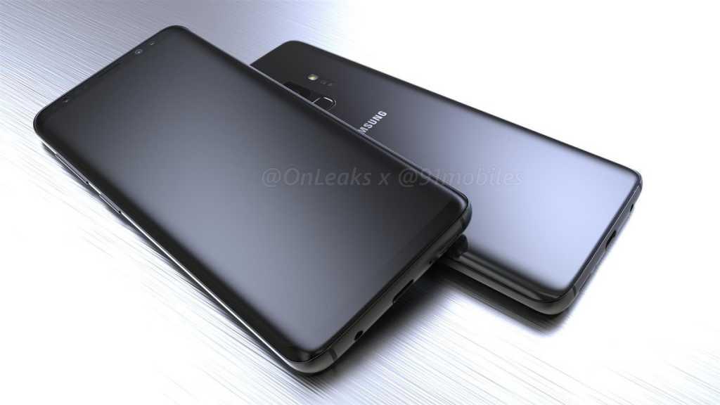Filtrados el frontal y la parte trasera del Galaxy S9 de Samsung 29