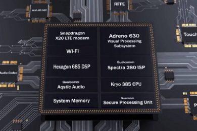 Especificaciones completas del Snapdragon 845; núcleos Kryo 385