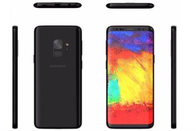 Filtrado el diseño definitivo del Galaxy S9