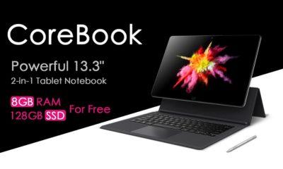 Chuwi sigue mejorando el CoreBook, montará un SSD de 128 GB sin coste 154