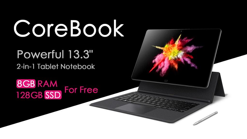 Chuwi sigue mejorando el CoreBook, montará un SSD de 128 GB sin coste 32