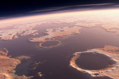 Marte estaba destinado a ser un planeta árido y seco