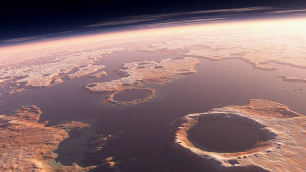 Marte estaba destinado a ser un planeta árido y seco 38