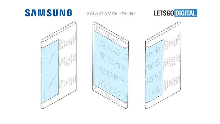 Así podría ser el primer smartphone flexible de Samsung