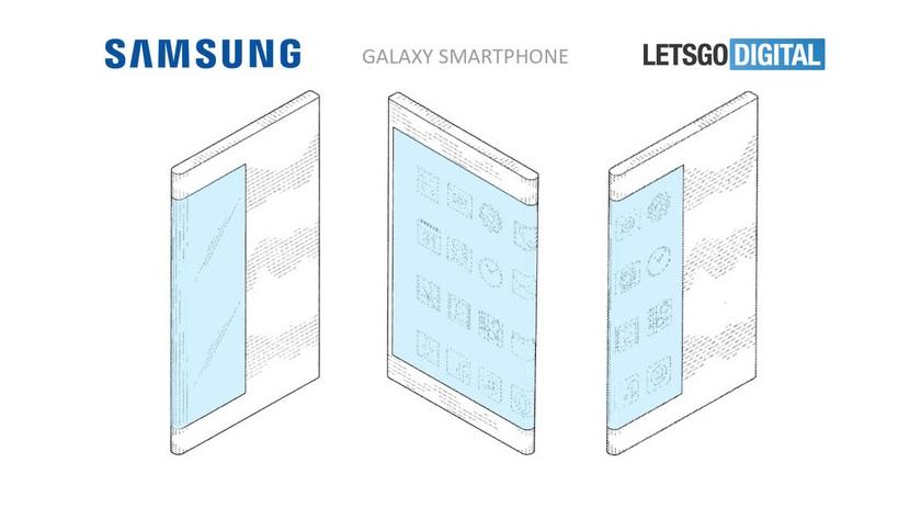 Así podría ser el primer smartphone flexible de Samsung 30