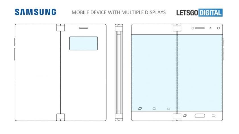 Samsung patenta smartphone con tres pantallas 29